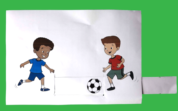 Kids who play soccer together