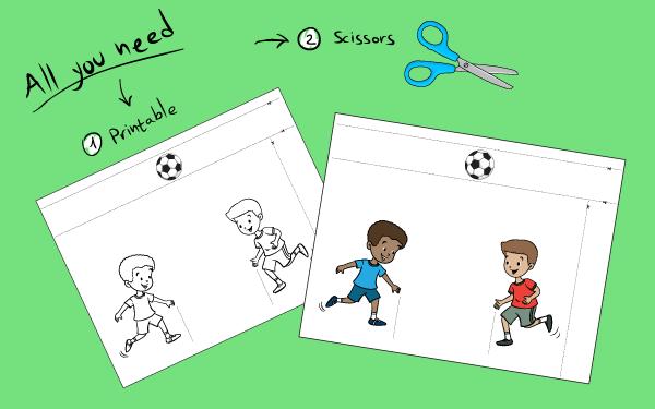 Kids have fun playing soccer