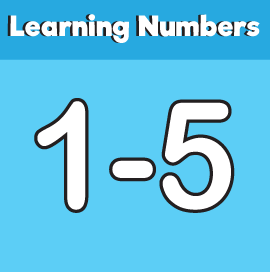 20 Page Printable Pack - Learning Numbers 1 to 5