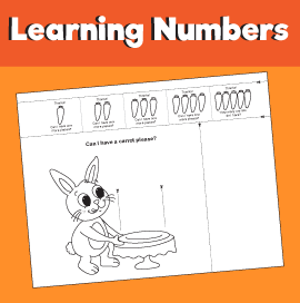 Learning to Count - Can I Have a Carrot Please?
