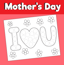 Do a Dot for Mother's Day