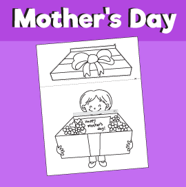 Surprise Box for Mother's Day - Paper Craft