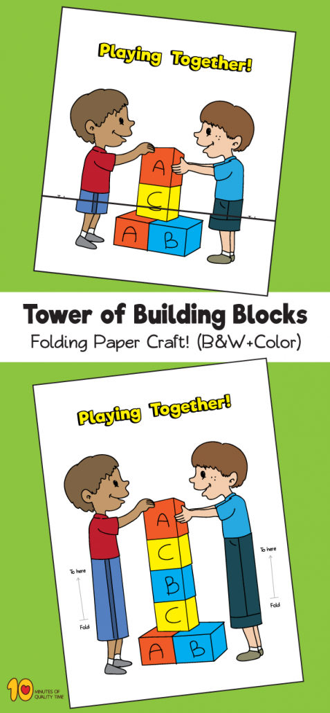 Tower of Building Blocks