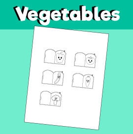 Vegetable Finger Puppets