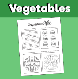 Vegetable Puzzles