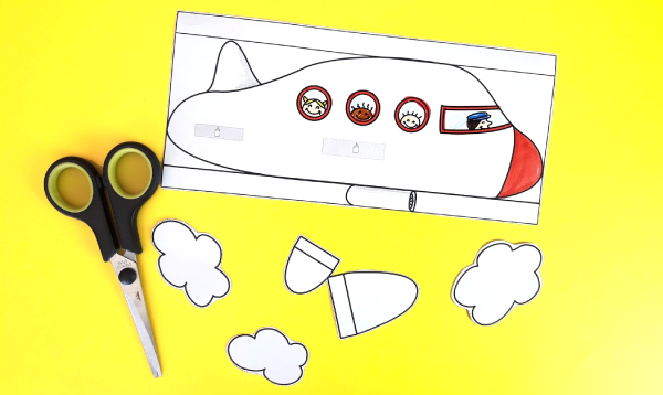 3D Airplane Paper Craft