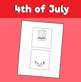 4th of July Optical Illusion