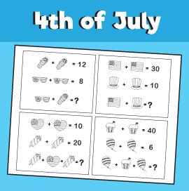 4th-of-July-math-quiz