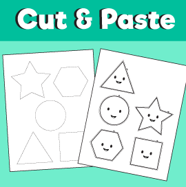 Cut and Paste – Shapes
