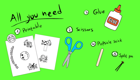 Hey Diddle Diddle - Printable Activity -all you need