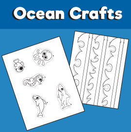 Ocean crafts - Fish in water