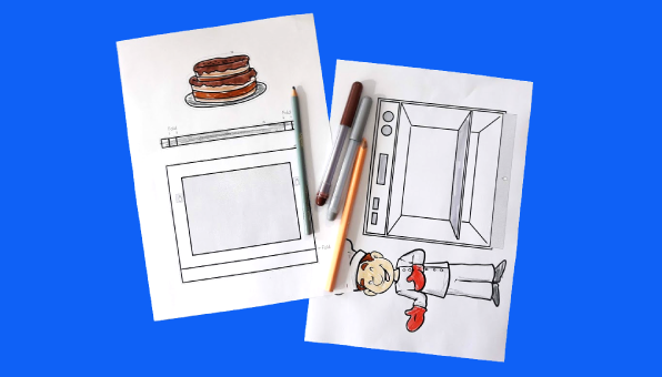 Pat a Cake Printable - Nursery Rhyme Activities