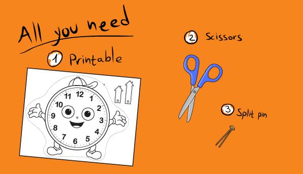 Telling Time Printable Game