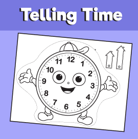picture regarding Telling Time Printable Game titled Telling Year Printable Activity 10 Minutes of Excellent Period