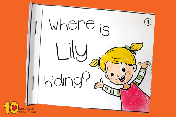 Where Is Lily Hiding - Little Book