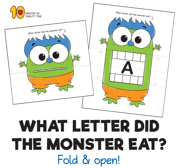 What Letter Did the Monster Eat?