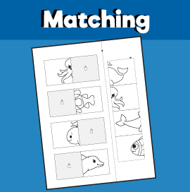Animal Matching Worksheet 5