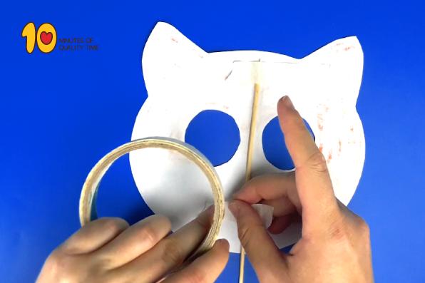 Cat Paper Mask Template