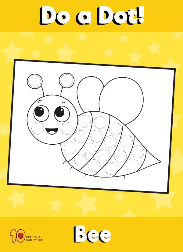 Dot Activity Animals - Bee