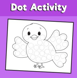 Dot Activity Animals - Bird