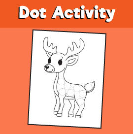 Dot Activity Animals - Deer