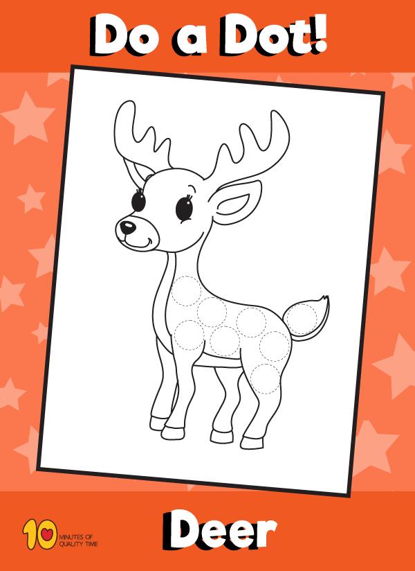 Dot Activity Animals - Deer