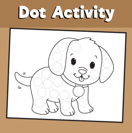 Dot Activity Animals - Dog
