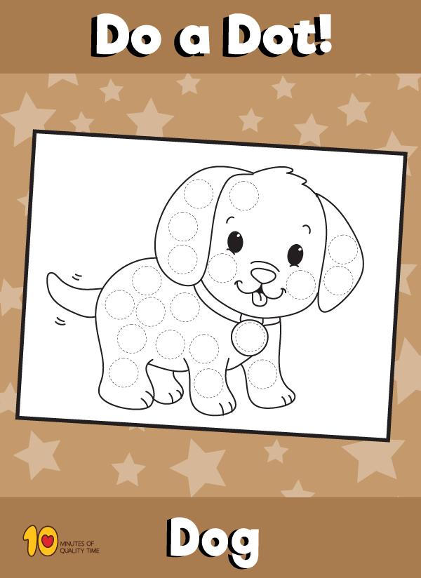 Dot Activity Animals - Dog