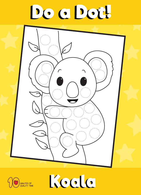 Dot-Activity-Animals-Koala