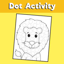 do a dot Lion