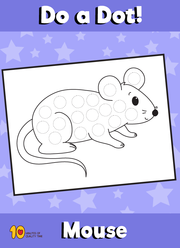 Dot Activity Animals - Mouse