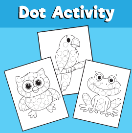 Dot Activity - Animals