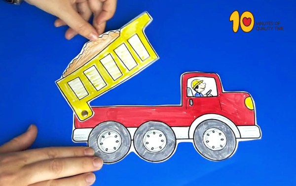 Dump Truck Craft 10 Minutes of Quality Time