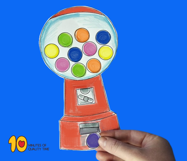 Gumball Machine printable