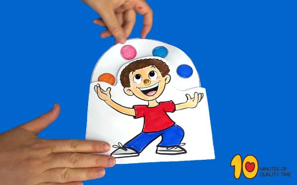 Juggling Boy Craft