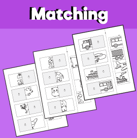 Matching worksheets