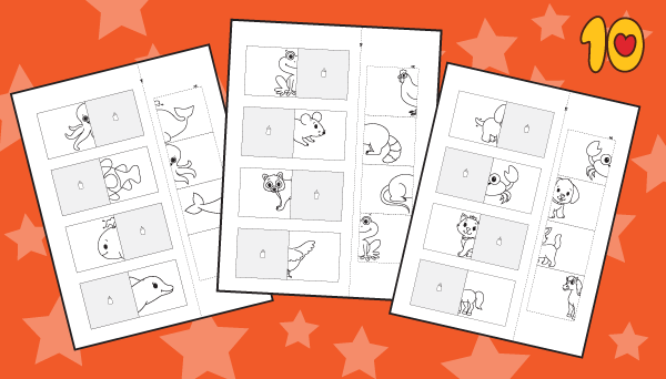 Matching worksheets Pack