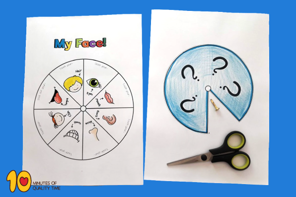 My Face - Printable Game