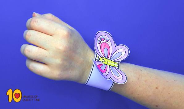 Butterfly Paper Bracelet