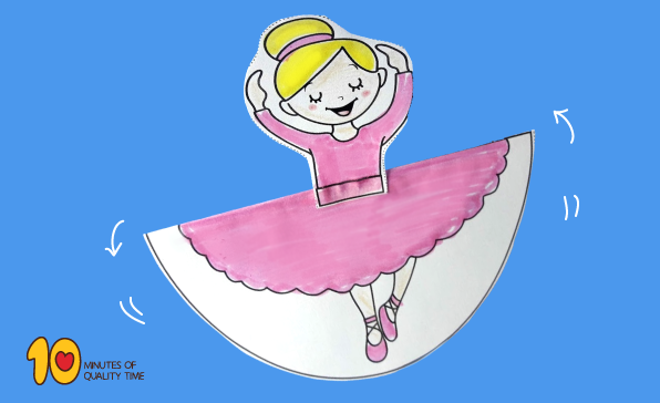 Rocking Crafts Dancing Ballerina 10 Minutes Of Quality Time