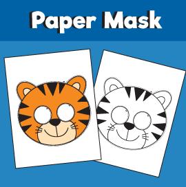 Tiger-Paper-Mask