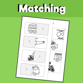 Transportation Matching Worksheet -2