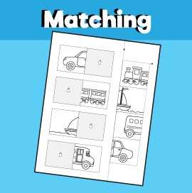 Transportation Matching Worksheet -3