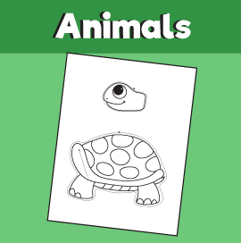 turtle craft template