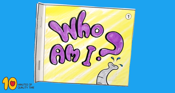 Who Am I - Elephant -Little Book
