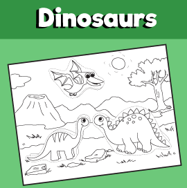 Dinosaurs-Cut-and-Paste