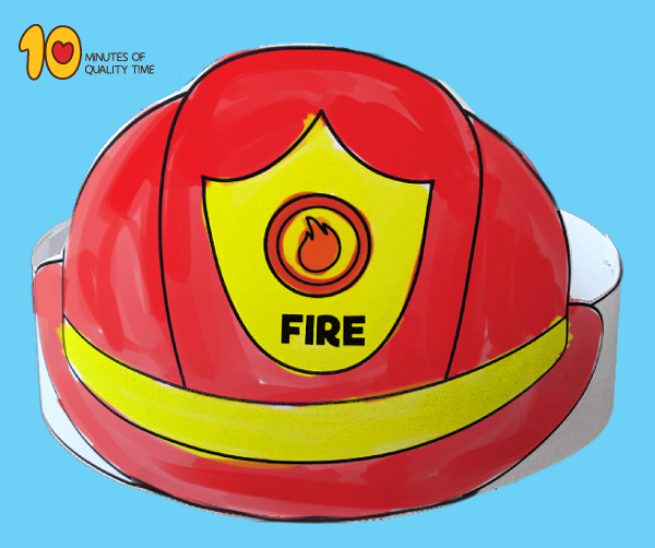 Firefighter Paper Hat