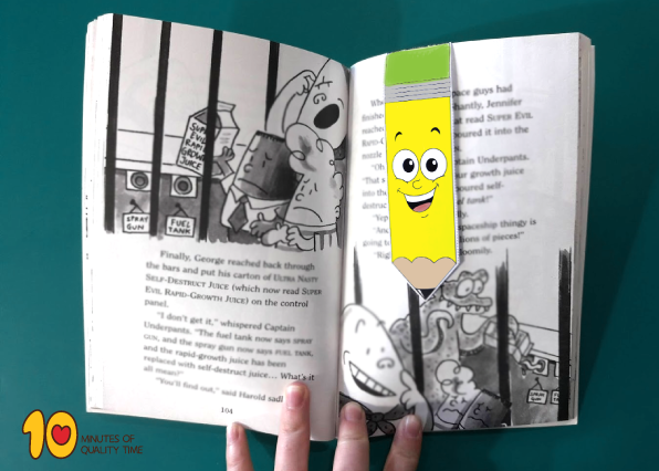 Pencil Bookmark Template