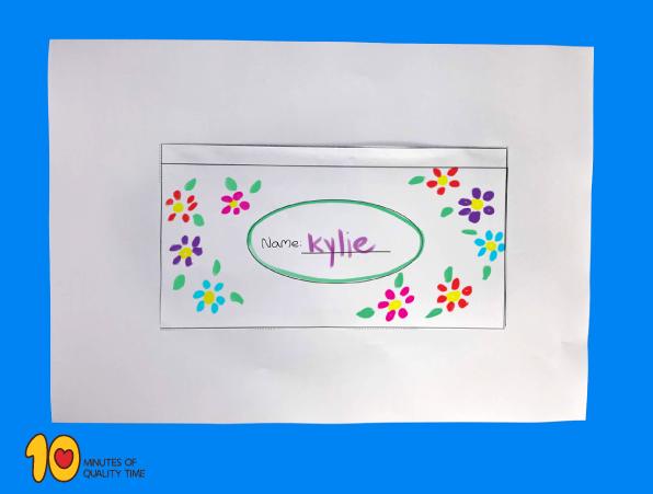Pencil Case Printable Craft