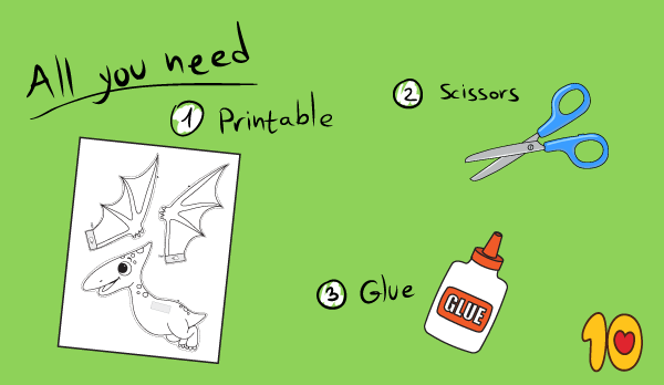 Pterodactyl Craft template